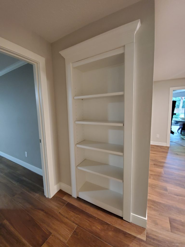 Murphy Door - hidden closet
