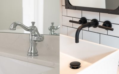 Deck Mount vs. Wall Mount Bathroom Vanity Faucets